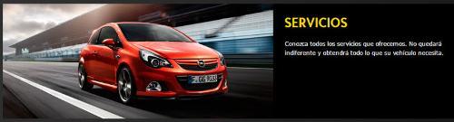 Servicios Opel en Barcelona