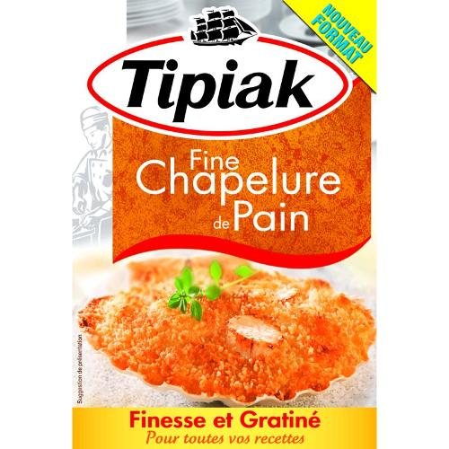 Fine chapelure de pain 275g - TIPIAK
