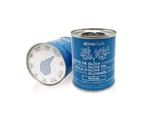Aceite De Oliva Virgen Extra Oliveclub Picual Lata 100 Ml.