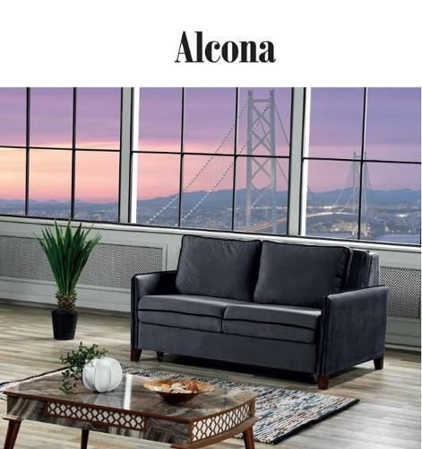 Modern lyx hårdvara stil tyg soffa set för vardagsrum möbler