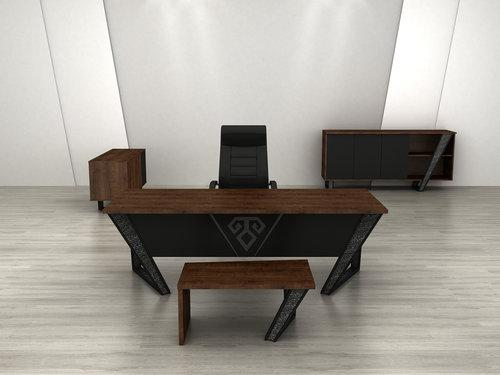Elegant and latest 2018 Executive office desk made in Turkey
