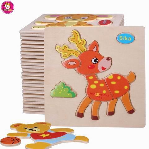 Hot Wooden Toys For Children Baby Kids Toys