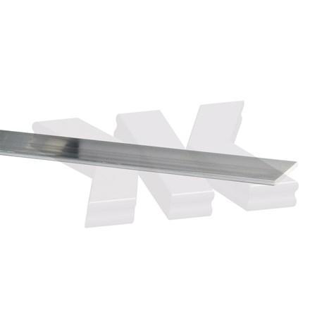 Flat-profile 15x2mm, raw