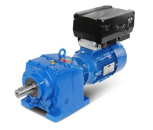 Stirnradgetriebemotoren mit Frequenzumrichter von 0,25kW bis 22kW