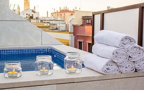 Atico con piscina en pleno centro de Sevilla