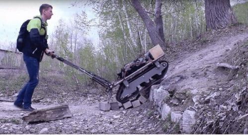 Elektrisch schleppendes ATV-Fahrzeug