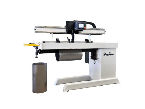 Automatic straight seam welding machine