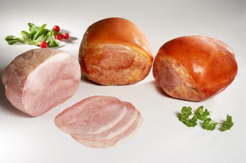 Barbecue ham and shoulder