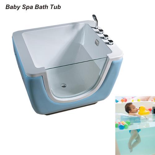 Single Glass Baby U Type Bathtub