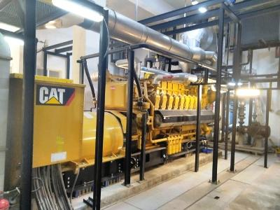 Caterpillar G3520 and G3516 Natural Gas Generators