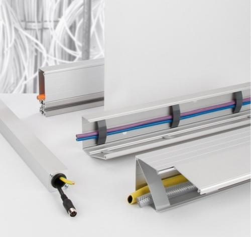 Système de goulottes de câbles en aluminium BLOCAN