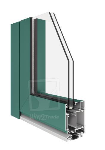 Fenêtres en Alu | MB-70 (Portes en Alu Aluprof)