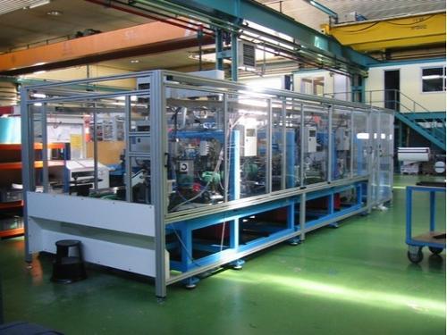 Protecciones para maquinas industriales