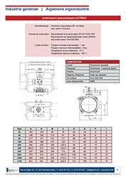 Robinet à boule 3 voies + Actionneur pneum. - 780 ACTREG