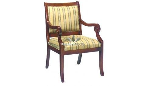 Ahşap Rustik Kollu Sandalye Ahşap Rustik Kollu Sandalye