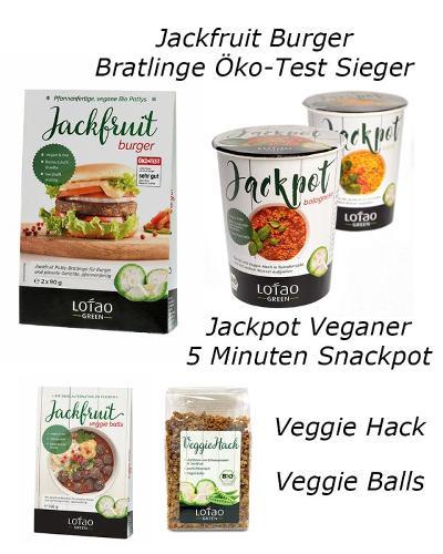Lotao Jackfruit Produkte für die Grillsaison