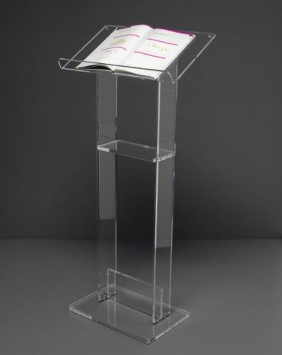 Leggio in Plexiglass di Design