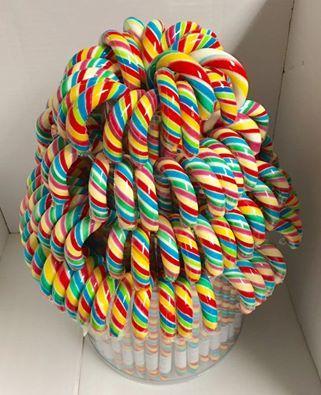 Hand made lollipop candy canes candy cane umbrella