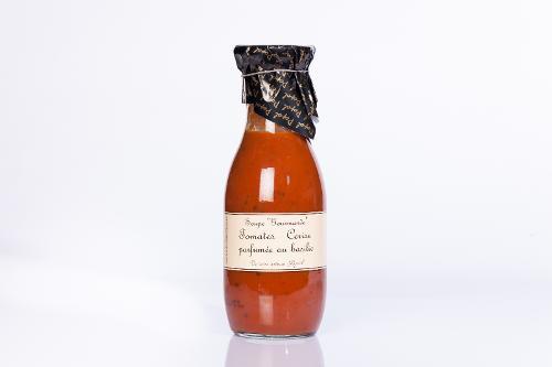 Soupe Aux Tomates - Cerise Parfumée Au Basilic