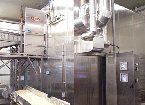 surgélateur IQF freeze equipment refroidisseur à spirale