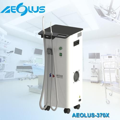Semi-Dry dental suction system with strong suction power