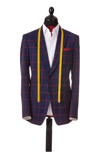 Bespoke blazer, full canvas, tailor made in Romania