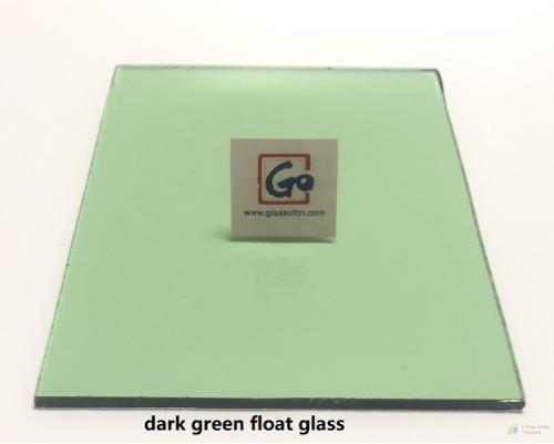 4-12mm Dark Green Float Glass