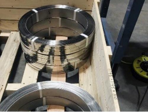 Stainless Steel Strapping and Boxed Banding for USA / Canada