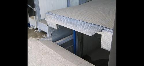 Hydraulische Vorschub-Überladebrücke Flexidock