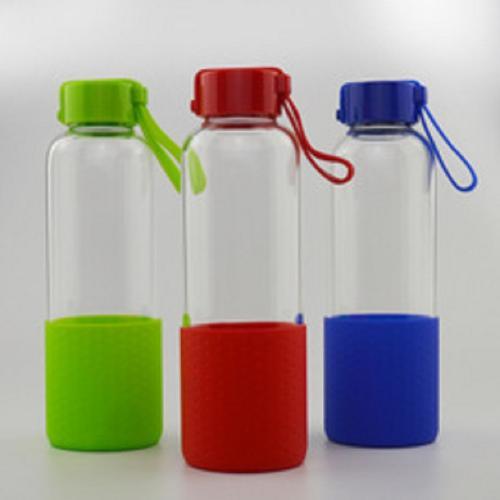 400ml borosilicate glass travel bottles
