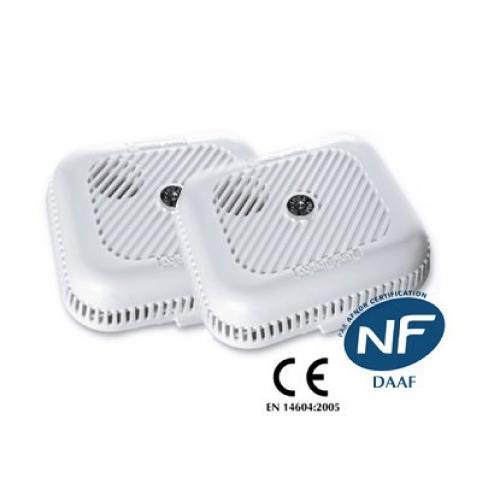 KIT 2 détecteurs de fumée EI 105B
