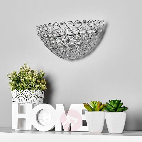 Lennarda crystal ceiling light