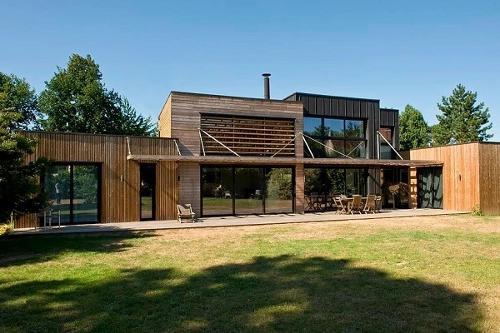 Casas em Timber Frame