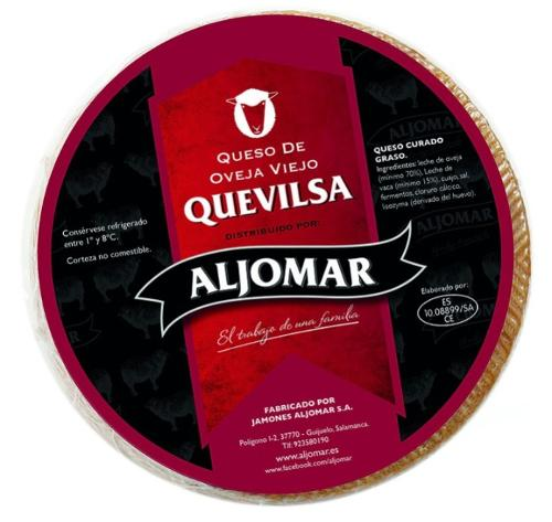 """Cured Pure Sheep's milk Cheese """"Quevilsa"""" (14/16 months)"""
