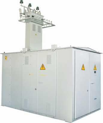 Комплектные трансформаторные подстанции киоскового типа