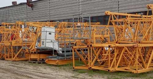 Башенный кран Liebherr 71 EC с наработкой