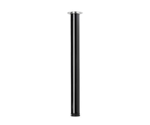 STRONG table leg 710/60 mm black