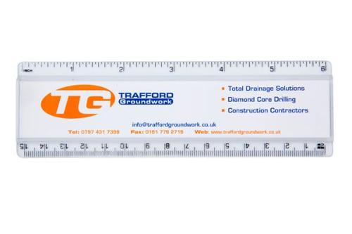 Transparent acrylic ruler components REG-15