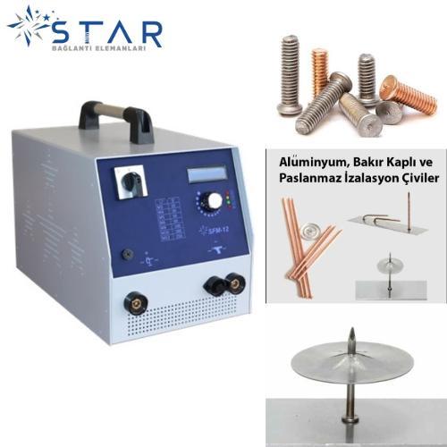 STAR SFM-12 Trafolu Saplama Kaynak Makinesi