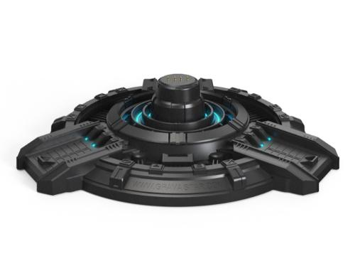 Gravastar G1 Mars charging base with Type-C cable Black EU
