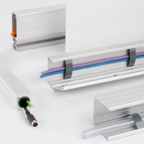 El sistema de canalización de cables BLOCAN de aluminio