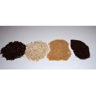 Quinoa, Amaranth, Kurkuma, Ingwer, Maca