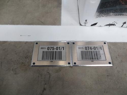 Barcode Bodenkennzeichnungen