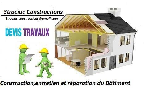 Service travaux construction