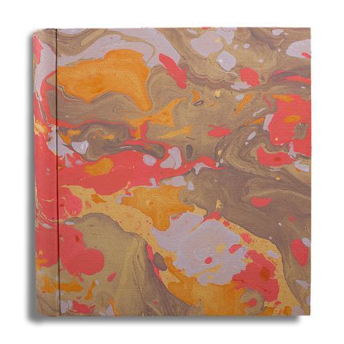Album foto in carta marmorizzta
