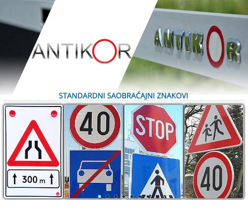 Standard traffic signs