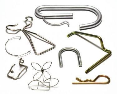 réalisation de pièces en fil métal cintré