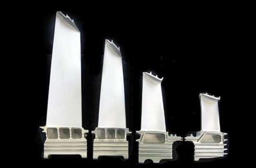 Turbinenblätter und -schaufeln