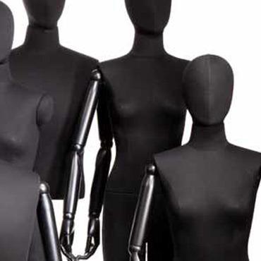Vinatge female mannequins