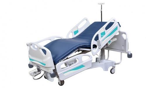Yoğun Bakım Hasta Karyolası Kolon Motorlu ABS Kaplama